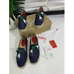 Flat Bottom Louboutin Moccasin