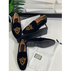 Perfect Fit Gucci Embroidery Men's Shoe
