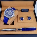Blue Patek Wrist Watch