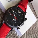 Red Emperor Armani Watch